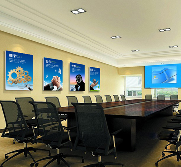 会议室装饰画最近案例